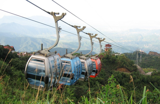 tour du lịch chùa hương cáp treo
