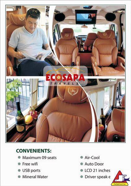 Xe Limousine EcoSapa